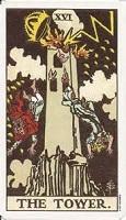 The Tower Tarot Card