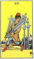 Seven of Swords Tarot Card