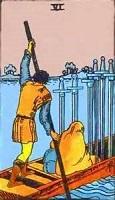 Six of Swords Tarot Card