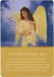 Let Your Past Go - Angel Card