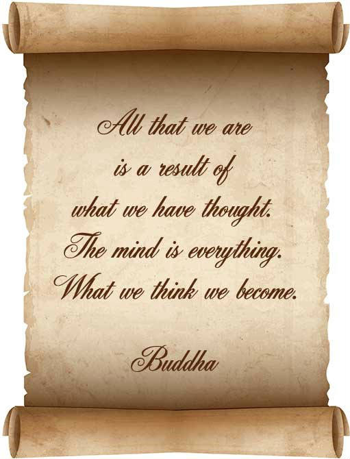 All that we are quote