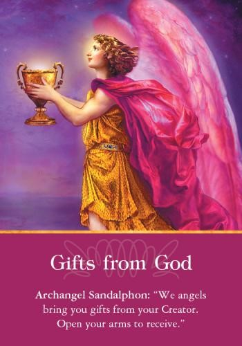 GIFTS FROM GOD Angel Card