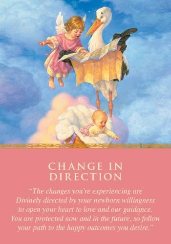 CHANGE IN DIRECTION Angel Card